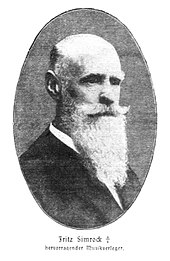 Fritz Simrock (Quelle: Wikimedia)