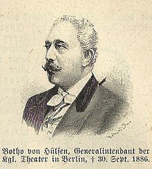 Botho von Hülsen (Quelle: Wikimedia)
