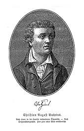 Christian August Vulpius (Quelle: Wikimedia)