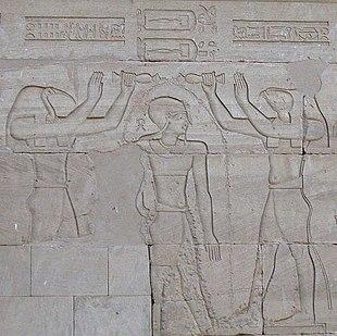 Kalabscha Pharao Thot Horus.jpg