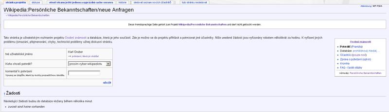 Bekanntschaften wikipedia