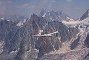Segelfliegen am Mont Blanc