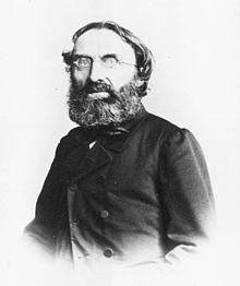 Carl Friedrich Weitzmann, Fotografie von 1862 (Quelle: Wikimedia)