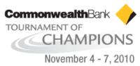 "Logo des Turniers ""Commonwealth Bank Tournament of Champions 2010"""