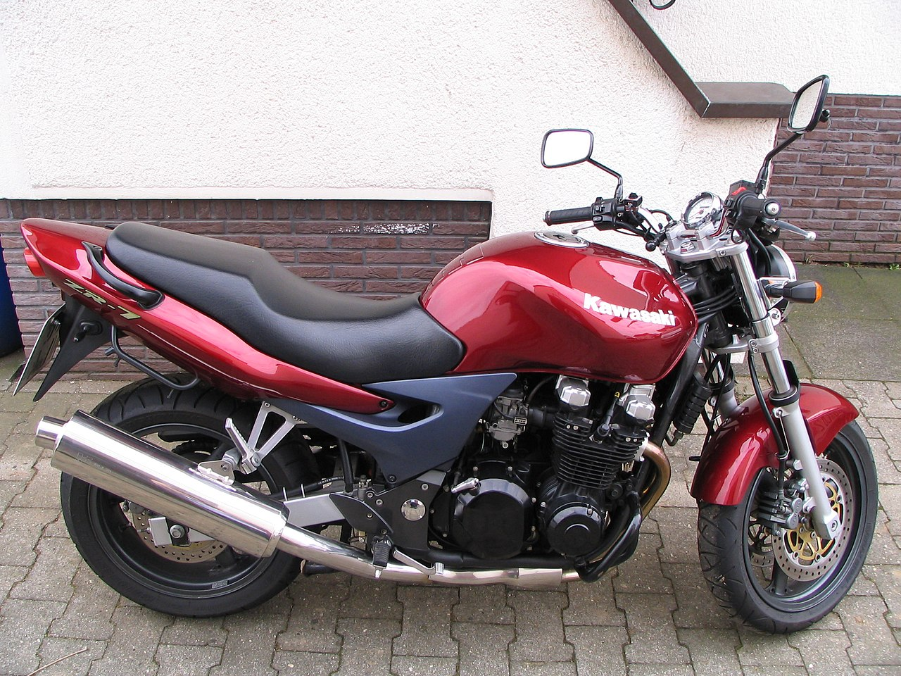 Kawasaki Cc Red