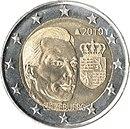2 Euro commemorative coin 2010 Luxemburg.jpg