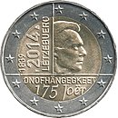 € 2 Luxembourg 2014 Independence.jpg