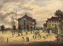 Hofwil im 19. Jahrhundert (Quelle: Wikimedia)