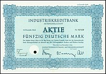 Ikb Bank Aktie