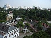 Blick über die Hauptstadt Hanoi