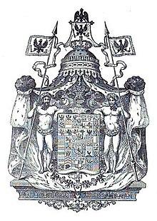 Wappen des Königreichs Preußen unter Friedrich Wilhelm III.[1] (Quelle: Wikimedia)