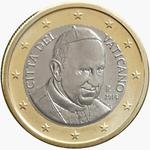 1 Euro Vatican City 4th series