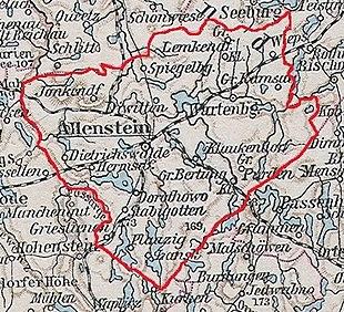 Karte des Landkreises