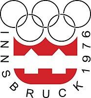 Logo der Olympischen Winterspiele 1976
