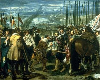 Diego Velázquez: Las Lanzas oder Die Übergabe von Breda (1635)