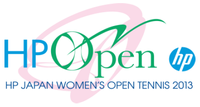 "Logo des Turniers ""HP Japan Women's Open Tennis 2013"""
