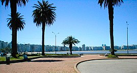 Promenade in Montevideo