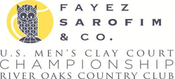 "Logo des Turniers ""Fayez Sarofim & Co. US Men's Clay Court Championship"""