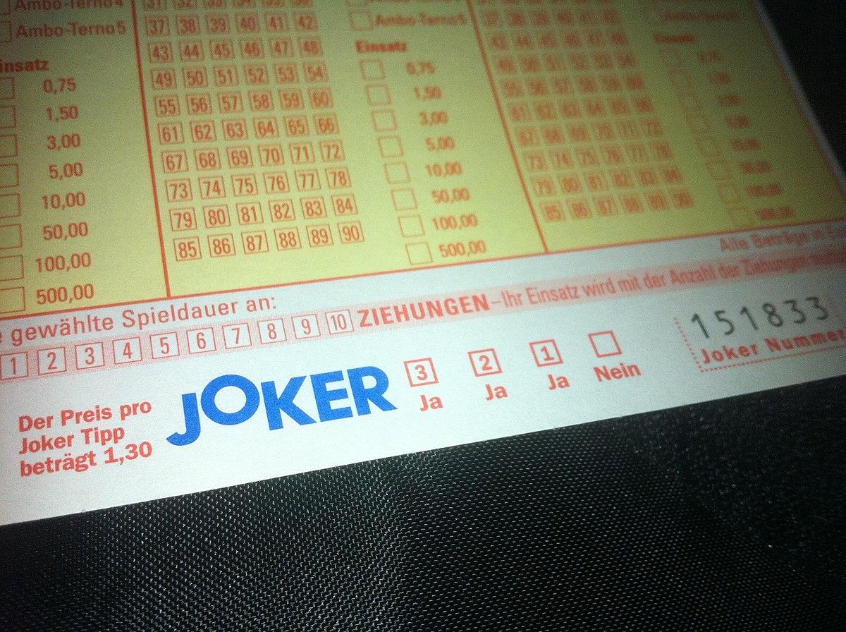 euro joker zahlen