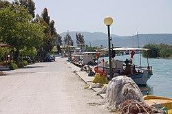 Ammoudia port