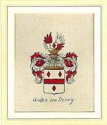 Wappen der Deroy (Quelle: Wikimedia)