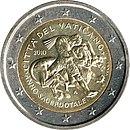 2 Euro commemorative coin 2010 Vatican.jpg