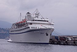 Als Athena im November 2005 in Nizza