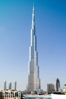 Der burj khalifa das höchste bauwerk der erde