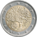 € 2 commemorative coin Portugal 2007.png