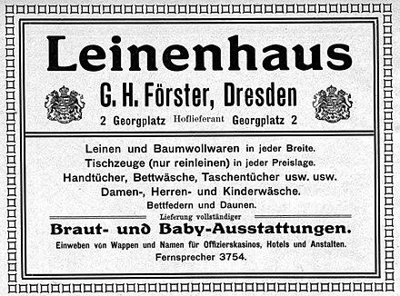 Liste sächsischer Hoflieferanten - Wikiwand