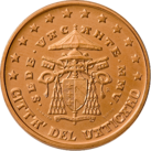 5 cents Vatican 2nd series