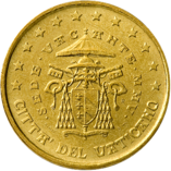 50 cents Vatican 2nd series