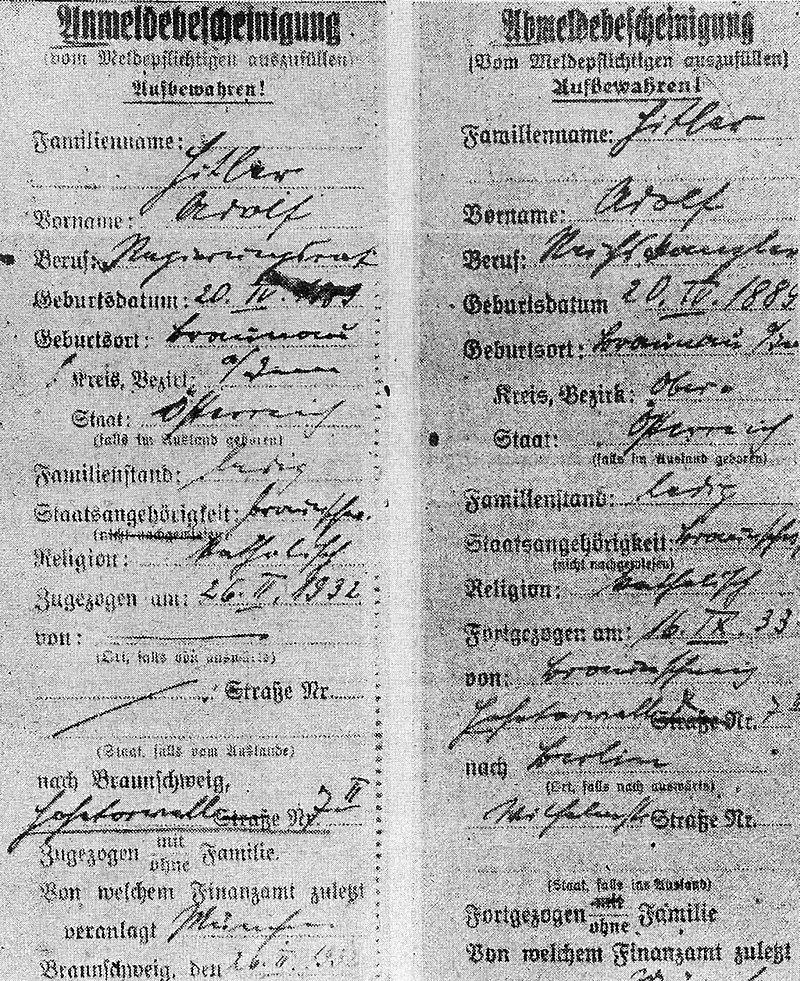 Die Einbürgerung Adolf Hitlers 800px-Adolf_Hitler_An-_und_Abmeldung_Braunschweig_1932-33