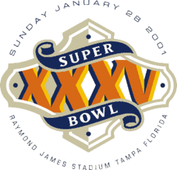 Logo Super Bowl XXXV
