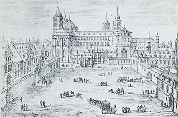 The Speyer Cathedral around 1650
