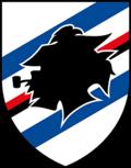 Club coat of arms of Sampdoria Genoa