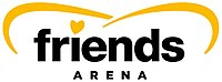 Logo der Friends Arena