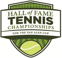 "Logo des Turniers ""Campbell's Hall of Fame Tennis Championships 2011"""