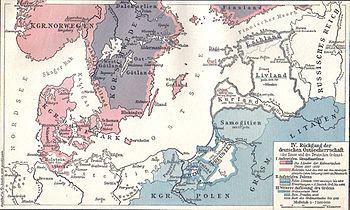 The Kalmar Union in its dissolution