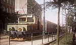 Pressburger Bahn Electric direct current locomotive for the Vienna city line.jpg
