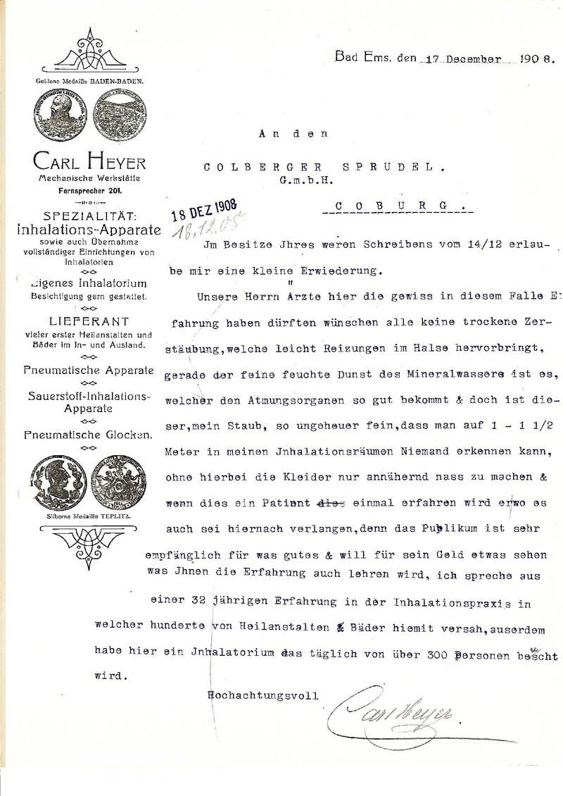 Dateigeschäftsbrief Carl Heyer Von 1908pdf Wikipedia
