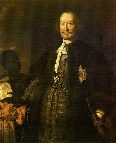 Zeitgenössisches Porträt des Fürsten Johann Moritz