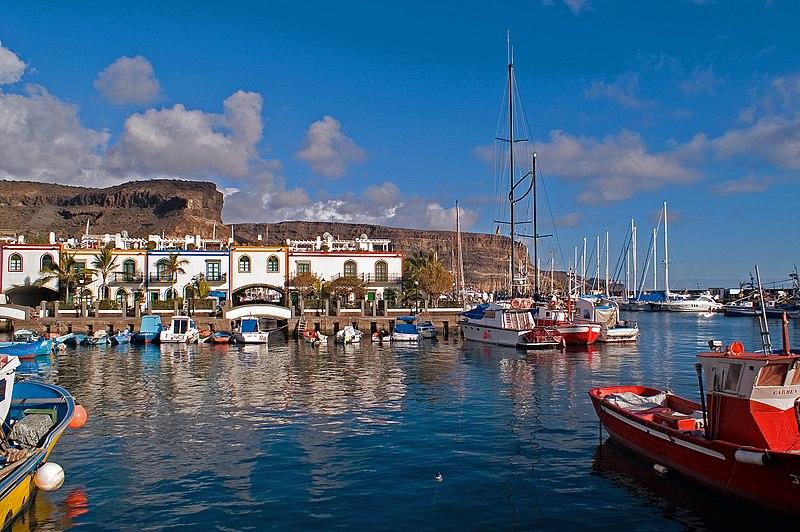 Puerto de Mogán / Quelle: Wikipedia (© 2005 Guido Haeger