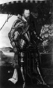 Moritz von Sachsen als Feldherr im Harnisch (Quelle: Wikimedia)