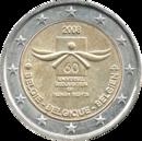 € 2 commemorative coin Belgium 2008.png