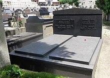 Grabstätte von Stefan und Lotte Zweig auf dem Hauptfriedhof in Petrópolis (Quelle: Wikimedia)