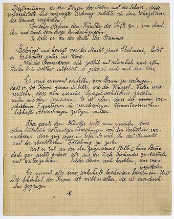 vortrag 1924 folio 4 recto zentrum paul klee bern - Handgeschriebener Lebenslauf Fur Einburgerung