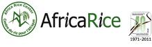 The Africa Rice Center logo