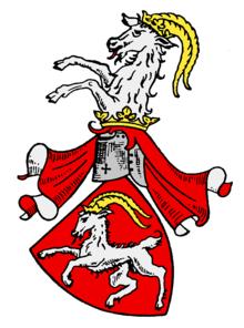 Wappen der Böcklin von Böcklinsau (Quelle: Wikimedia)