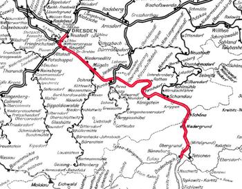 Bahnstrecke Děčíndresden Neustadt Wikipedia